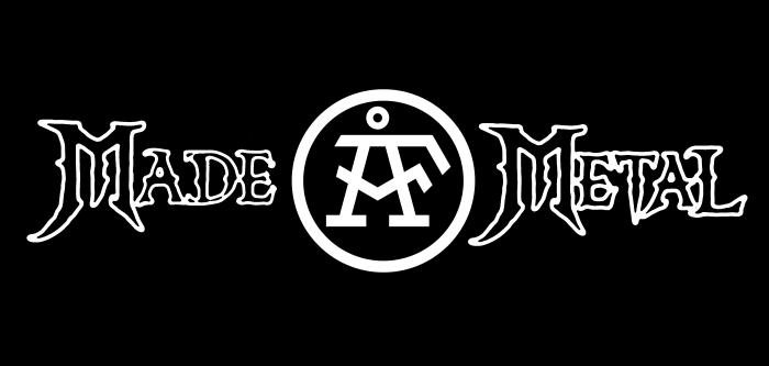 Made ÅF Metal Logo Svart 4200x2000